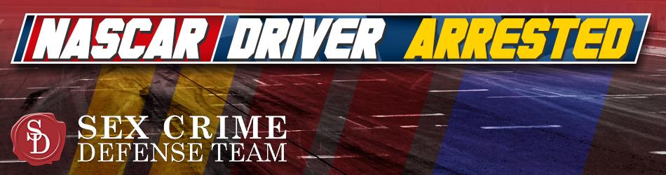 Nascar Driver Arrest Banner